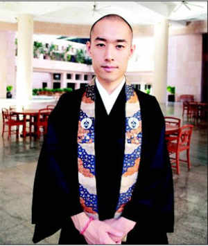 Monk who is sold on ISB: Japanese creating management model to attract Gen Y to Buddhist temple