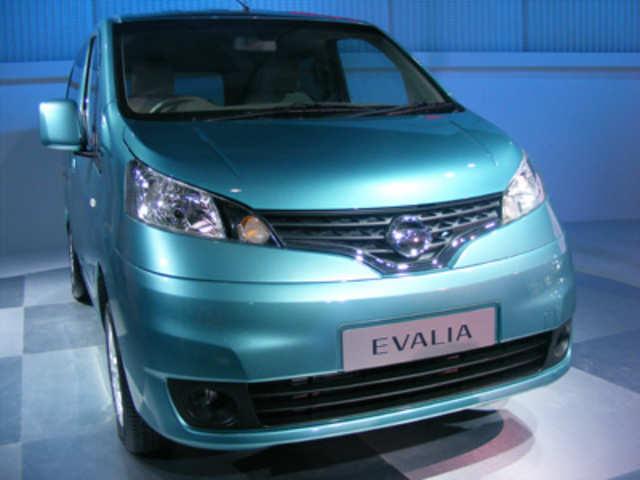 Nissan Unveils 7 Seater Evalia Nissan Unveils 7 Seater Evalia
