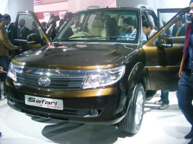 Safari Strome Is A Contemporary Suv Auto Expo 2012 Tata Motors