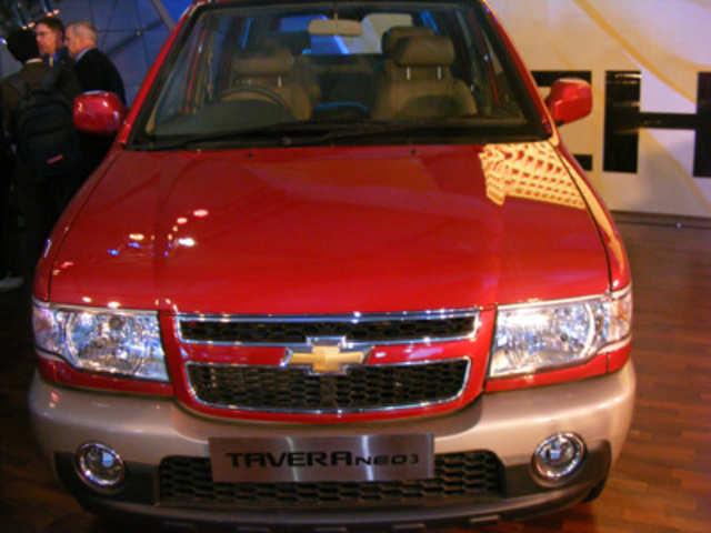 Chevrolet Tavera Neo 3 Chevrolet Tavera Neo 3 The Economic Times