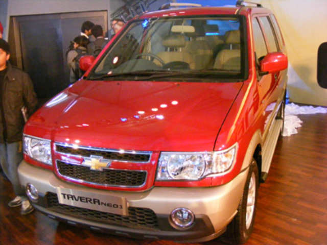 Chevrolet Tavera Neo 3 Chevrolet Tavera Neo 3 The Economic Times