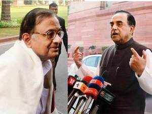 Swamy submits documents against Chidambaram