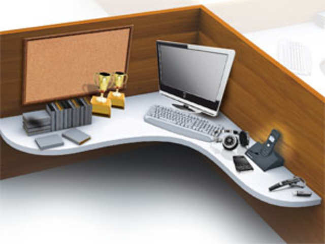 work office desk. office desk dilemmas what does your work say about you