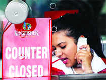 FII holdings in Kingfisher Airlines dip sharply