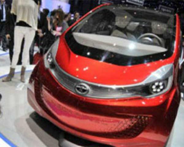 Tata Motors Unveils Megapixel Concept Car The Economic Times Video