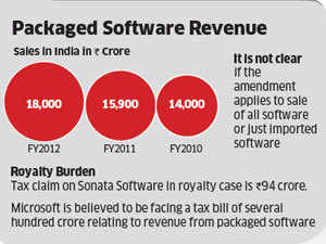 Budget 2012: Tweaked royalty law can lead to fresh tax burden on software cos like Microsoft, GE, Samsung