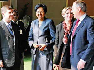 CEOs like Pepsi's Indra Nooyi nudge consumers to make sustainable choices