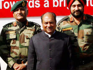 Bribe claim: General V K Singh did not want to pursue matter, says A K Antony