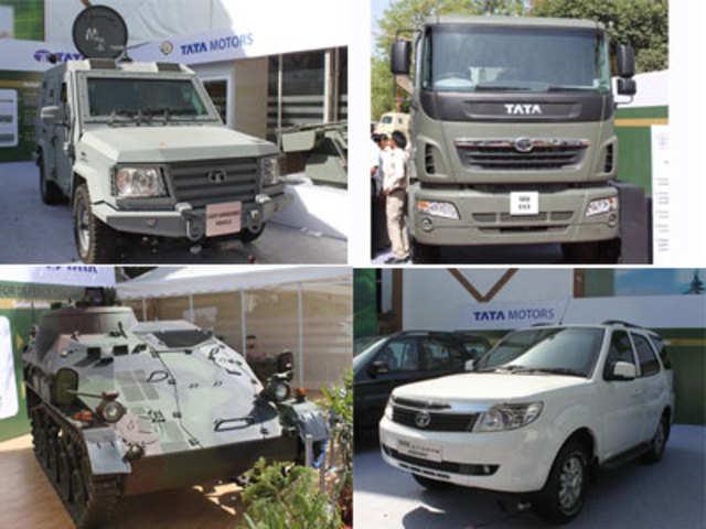 Tata motors at the 2012 defexpo model showcase tata for Tata motors recruitment process