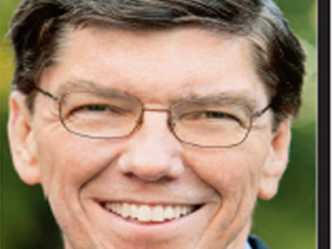 essay on clayton christensen Clay christensen says everyone  according to harvard business school professor clayton christensen,  see christensen and his coauthors' full essay on.
