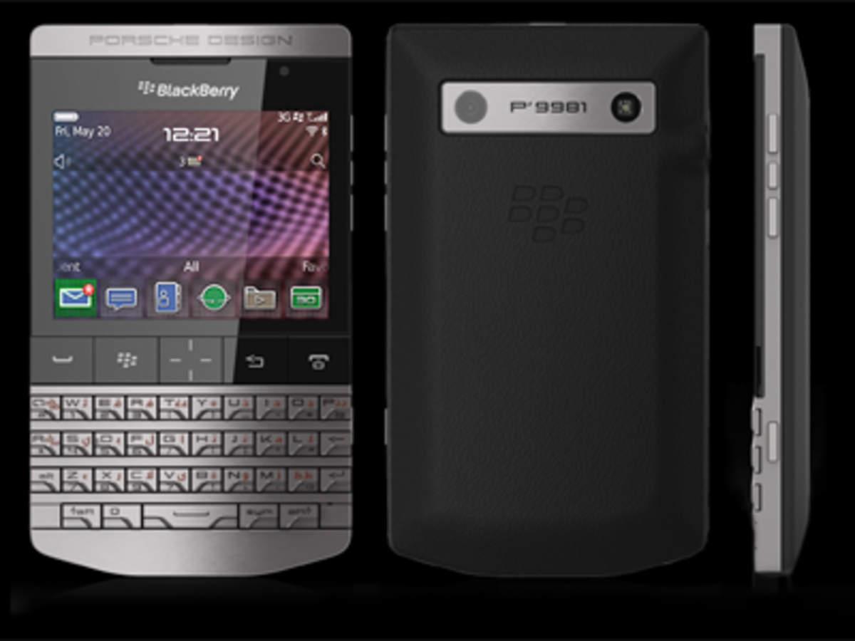 BlackBerry Porsche P-9981: RIM launches Rs 1 39 lakh phone, says it