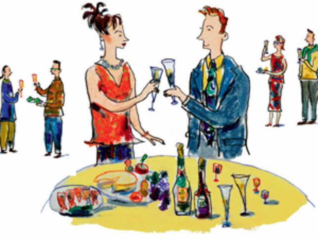 Should You Invite Your Colleagues To A Home Party The Economic Times