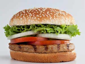 A generic burger image