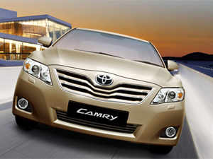 Pic of Toyota Camry already available in the market. (Pic Courtesy: www.toyotabharat.com)