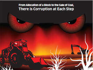 The rise in corruption in coal is linked to the rising importance of this mineral in economy and of the industry in political funding.