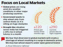 Govt mulls ban on wheat exports by private traders