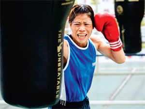 It looks like boxing is brewing in Manipur. For the present, women boxers have made the more rapid strides, led by Mary, Sarita Devi and, now, Sarjubala.