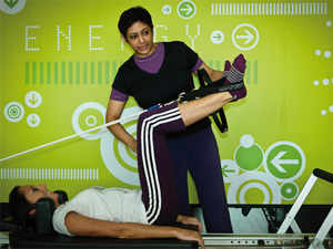Anjali, 42, is the only person in India to run a licensed Stott Pilates centre, which can train and certify pilates instructors - approximately about 300 people around the world can lay claim to this niche qualification.