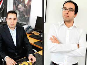 The co-owners of Valiant, Jason Kothari and Dinesh Shamdasani.
