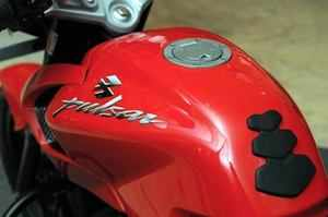 Country's second largest two-wheeler maker Bajaj Auto reported 9.97 pc fall in motorcycle sales at 3,04,352 units in August.