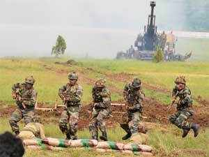 The exercises in the North East were conducted by 33 Corps under the Eastern Army Command earlier this month, army sources said.