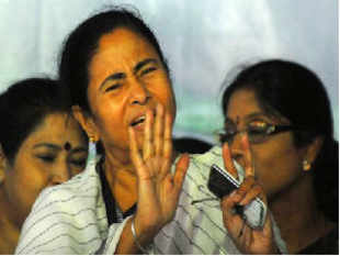 """Anand Sharma today said """"strident and hostile"""" opposition by Mamata against FDI in retail has forced the Centre to shift a global investor meet from Kolkata."""