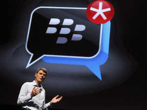India will be among the first countries to get BB10 next year but RIM won't compromise on customers' security says CEO Thorsten Heins
