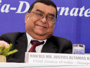 Justice Altamas Kabir, the senior-most judge of the Supreme Court, was Saturday sworn in as the 39th Chief Justice of India.