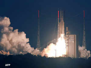 India's advanced communication satellite GSAT-10 was successfully launched early today on board Ariane-5 rocket from Europe's spaceport in French Guiana.