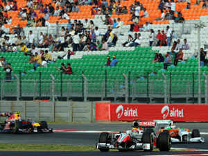 JPSL, that hosts F1 race in India, is seeking an insurance cover for Rs 750 cr to protect it against event cancellation and loss or injury to spectators.