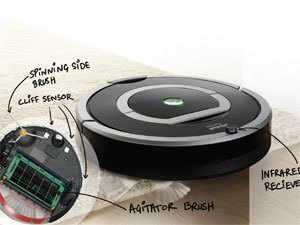 How does a robotic vacuum cleaner work - The Economic Times