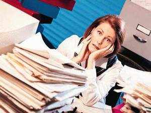 Overload can lead to excessive stress at the workplace. A professional needs to delegate responsibility, manage time efficiently, plan work and strike a work-life balance.
