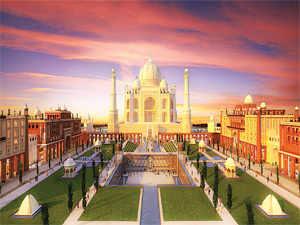 A landscape view of Taj Arabia.