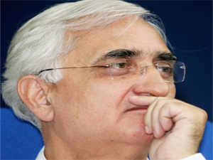 Salman Khurshid hits back, shows photos of camps to counter charges against Trust