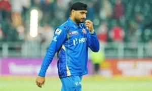 Rising off-spinner R Ashwin today replaced out-of-form senior tweaker Harbhajan Singh in the top bracket of BCCI's list of central retainership contracts, while struggling pacer Ishant Sharma was also demoted from Grade A to B.