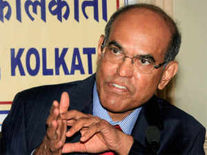 """""""On whether we will intervene to increase the foreign exchange reserves, the answer is no,"""" said Subbarao in response to an economist's question on reserves cover for imports falling to 90s levels."""