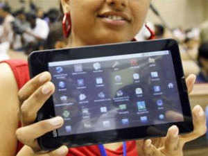 """India will showcase its low-cost Aakash tablet at the UN, highlighting the country's innovation involved in creating the """"most competitively priced"""" tablet computer."""