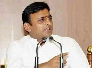 UP CM Akhilesh Yadav said his govt preferred using money to bring smiles on faces of people rather than waste it on memorials and parks.