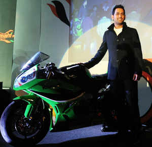"""""""We will have to chalk out a plan because there are three categories, Sport Supersport and Superbike. We will see how it goes. Definitely it's and option for us,"""" Dhoni told reporters last night."""