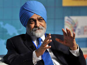 Ahluwalia did not specify any new target for GDP growth.