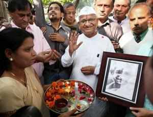 "Anna Hazare has accused PM of ""betrayal"" on the Jan Lokpal bill and warned of another protest if it was not passed before the 2014."