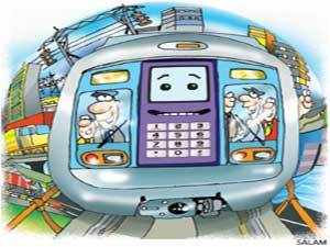 India's first private metro rail service, the Rapid MetroRail Gurgaon has signed five-year agreements with telecom service provider Vodafone and domestic handset maker Micromax to brand two of the stations on the loop line that is being built as a feeder service to the Delhi Metro.