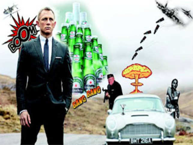 f3e1a03f6de6 Why James Bond is one of the safest bets for brands - The Economic Times