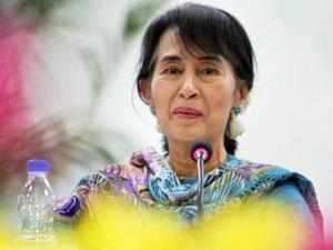 """Suu Kyi reminisced her formative years in the prestigious institution and said she never felt """"far away"""" from India."""