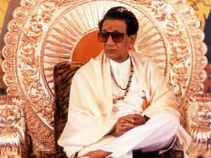 Shiv Sena chief Bal Thackeray.