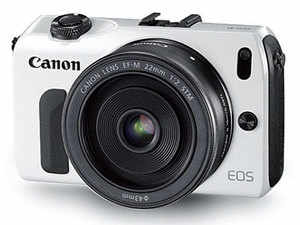 The Canon EOS M is a fair bit smaller than even Micro Four Thirds cameras, which have smaller sensors