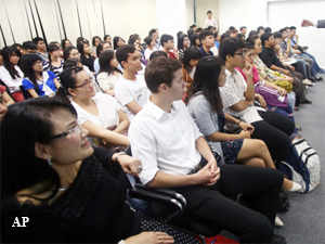 Chinese studying abroad are returning back offering stiff competition for jobs to the students, who studied in local universities.