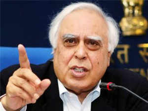 """Sibal said sending people booked under Section 66(A) to judicial custody is not in accordance with law and suggested that it could be """"illegal""""."""