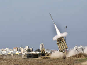 According to sources, there have been some discussions between DRDO and Israeli counterparts for possible joint development of Iron Dome for India.