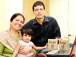 Meet Chennai-based  spouses-turned-business partners, who opted out of the corporate rat race  one sure idea: to work on an environment-related concept.